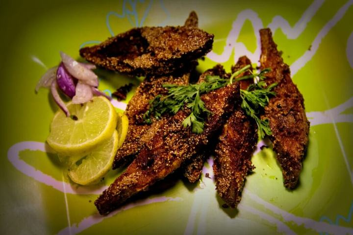 Rava, Fish, Fried Fish, India, South India, South Indian Food, Indian Food