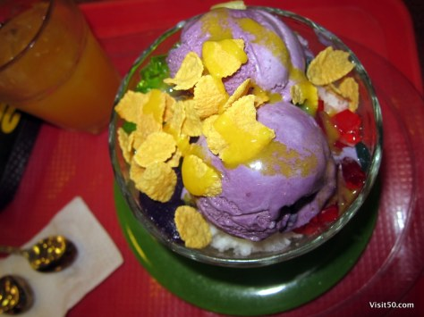 Halo Halo!  Filippino dessert (Visit50.com)