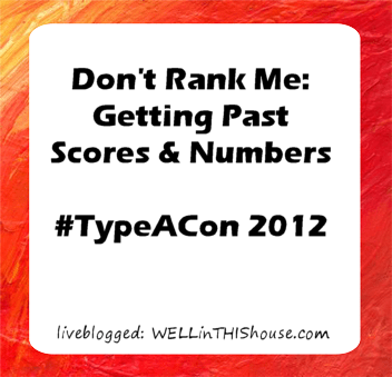Don't Rank Me: Getting Past Scores and Numbers