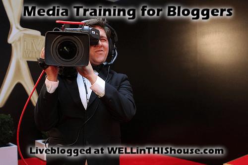 Media Training for Bloggers - BlogHer 2012