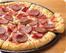 Schwan's Pizzeria Style Ultimate Pepperoni Pizza