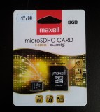 MAXELL 8GB micro SDHC