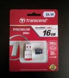 Transcend 16GB micro SDHC