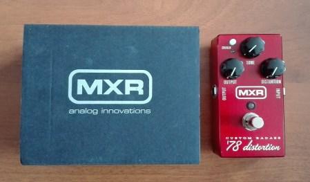 Китарен ефект MXR M78