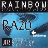 Струни за акустична китара Galli Rainbow RA20