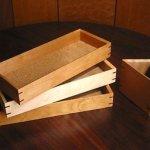 日高英夫さん 木の小物 ペン皿