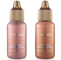 swatches review M.A.C Lustre Drops M.A.C highlighter