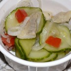 Pickled Herring and Cucumber Salad