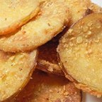 Crispy Thin Fried Green Tomatoes