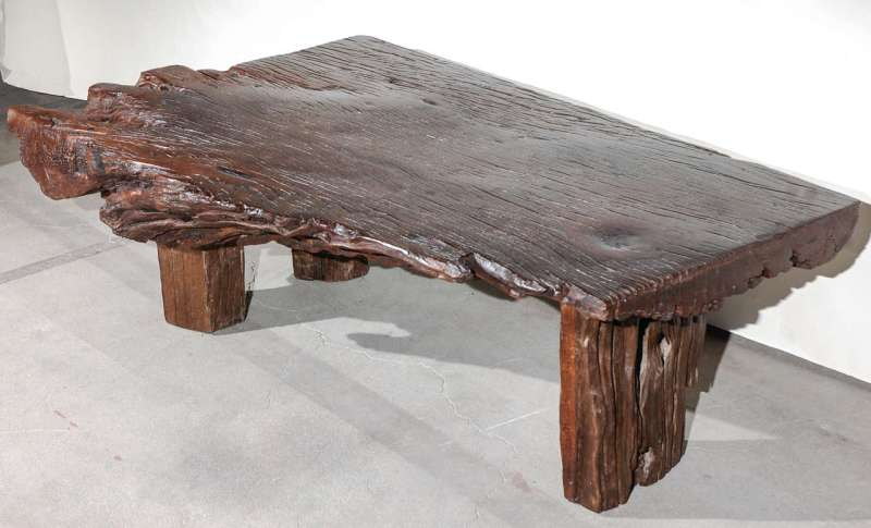 Large Of Reclaimed Wood Coffee Table