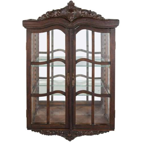 Medium Crop Of Wall Curio Cabinet
