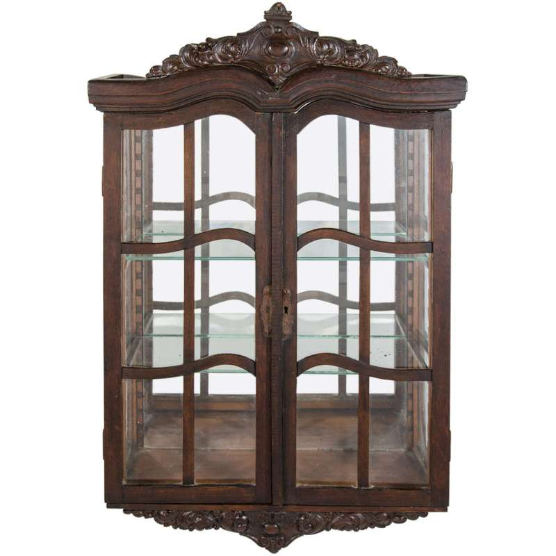 Large Of Wall Curio Cabinet