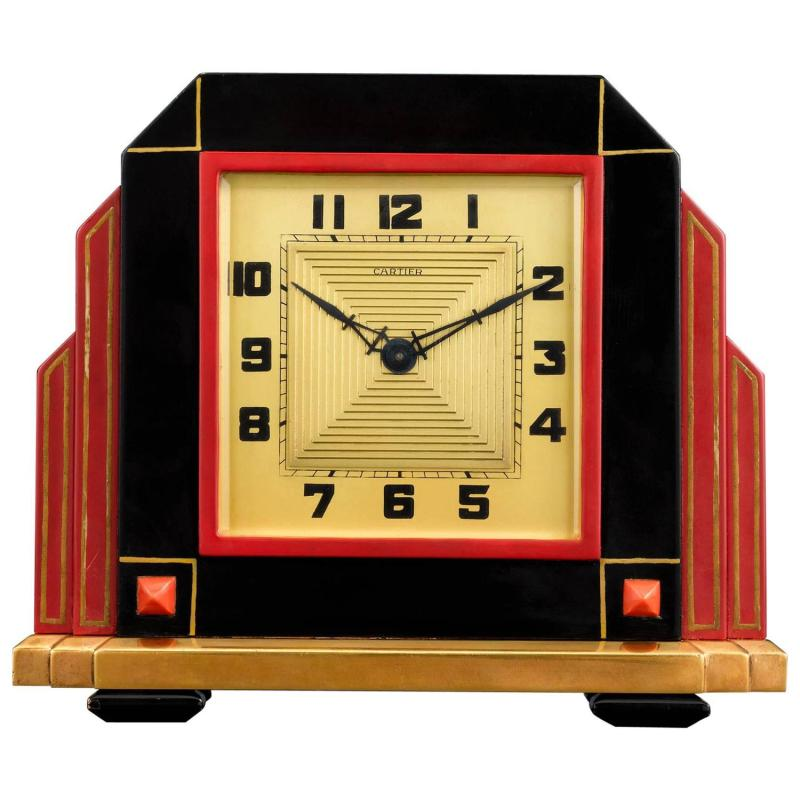 Large Of Art Deco Clock