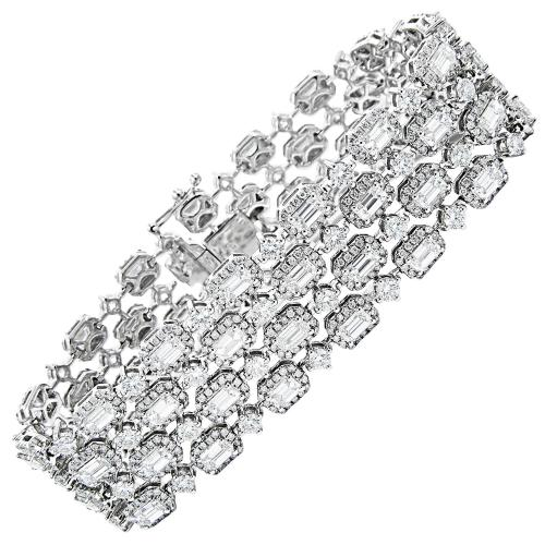 Medium Of Diamond Tennis Bracelet
