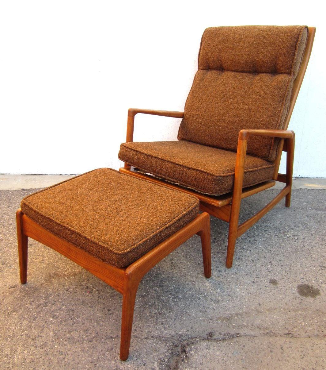 Superb Century Danish Lounge Chair Ib Danish Lounge Chair Ib Kofod Lounge Chairs Ottoman furniture Modern Lounge Chairs With Ottoman