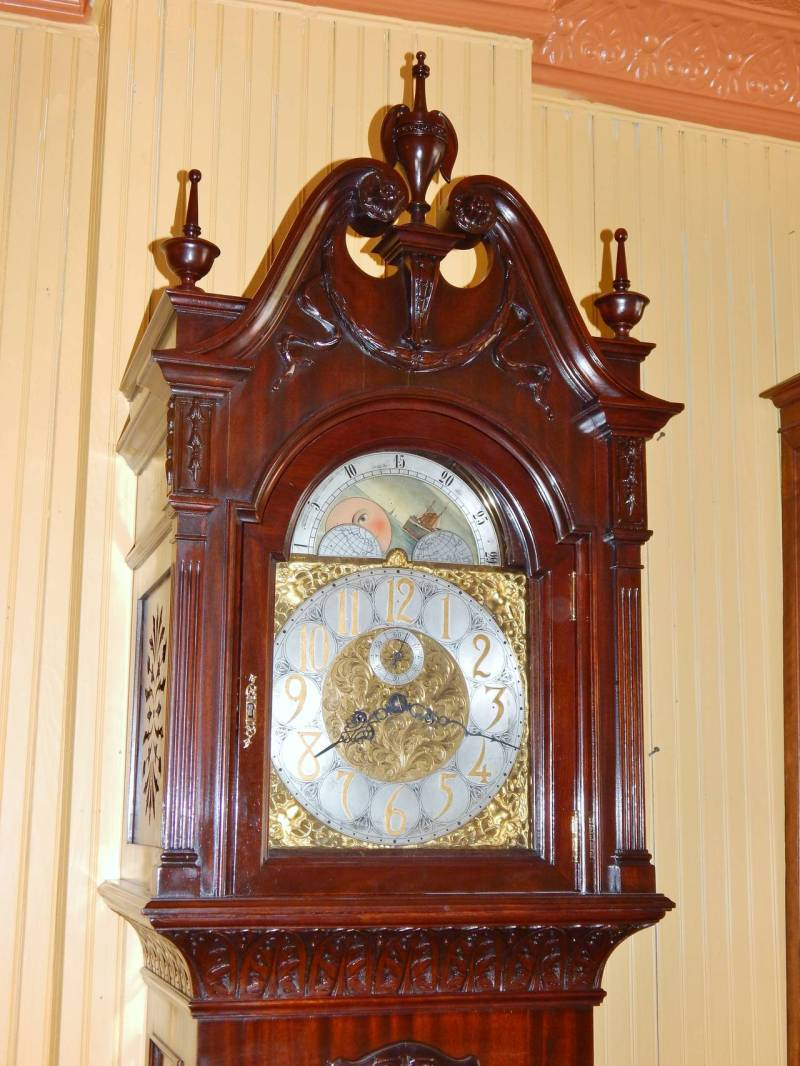 Large Of Unique Grandfather Clock