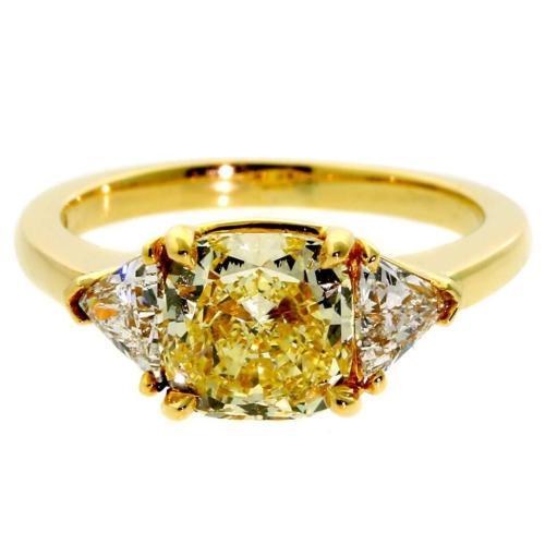 Medium Of Yellow Diamond Rings