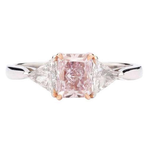 Medium Of Pink Engagement Rings