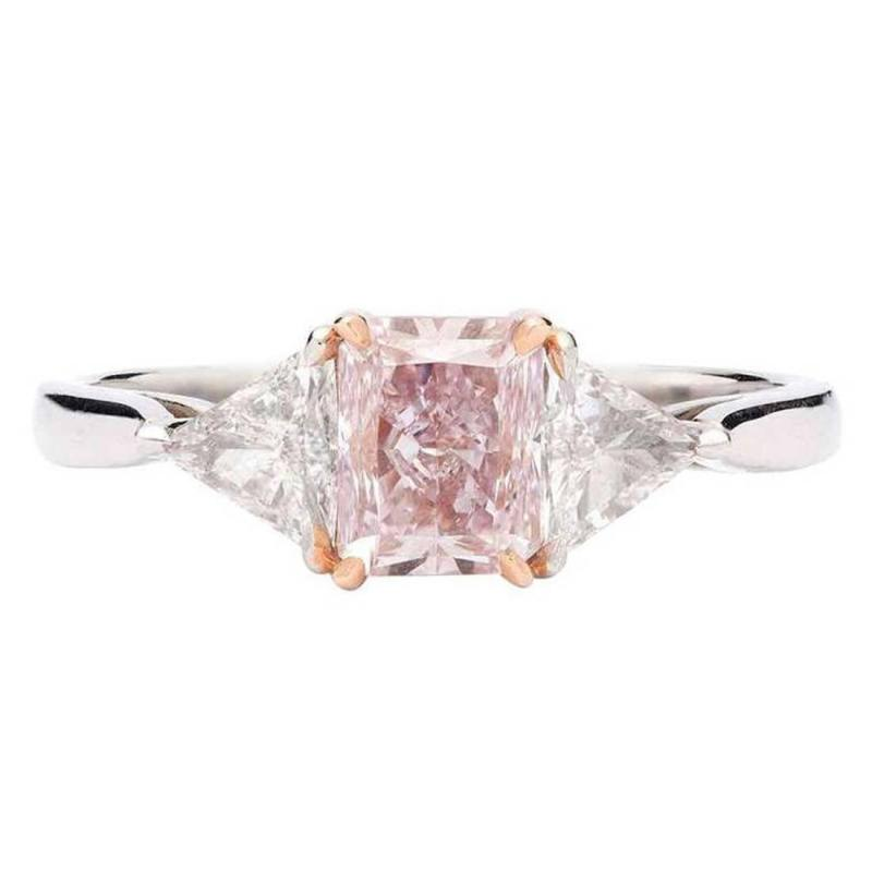 Large Of Pink Engagement Rings