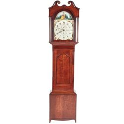 Small Crop Of Grandfather Clock Wall Stickers