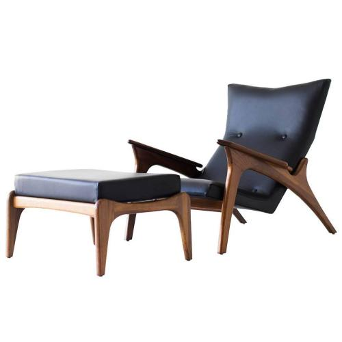 Medium Crop Of Modern Lounge Chairs With Ottoman