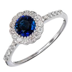 Small Crop Of Blue Engagement Rings