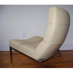 Small Crop Of Contemporary Leather Lounge Chair