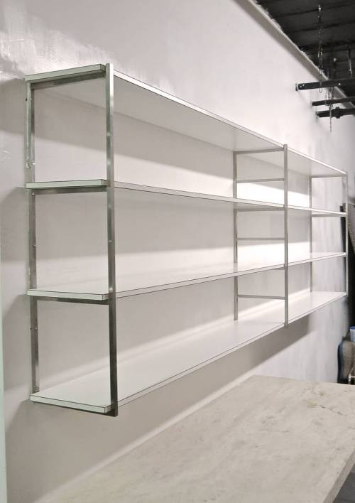 Medium Of Wall Mounted Bookcase