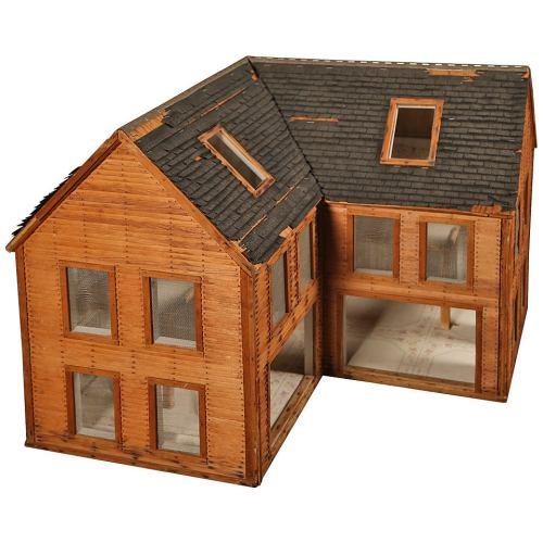 Medium Crop Of Wooden Doll House