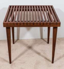 Cosmopolitan Condition Slat Wood Side Or End Table Hairpin Legs Slat Wood Side Or End Table Sale At Wood Side Table Wood Side Table Sale