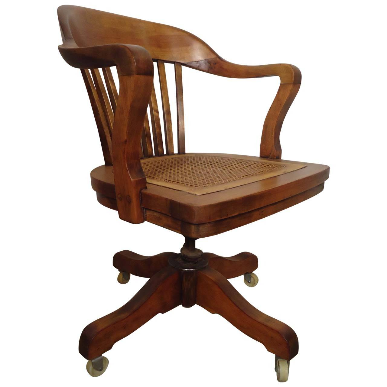 restored vintage swivel desk chair by page 1 office chairs for sale