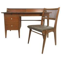 Small Of Mid Century Modern Desk