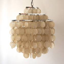 Small Of Capiz Shell Chandelier