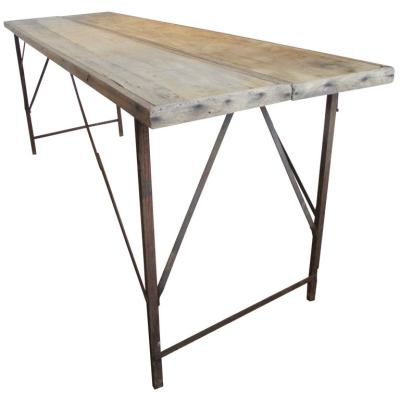 Antique Wallpaper Pasting Work table at 1stdibs