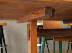 Small Of Trestle Dining Table