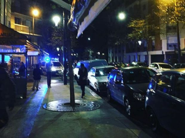 PHOTO: This image was posted to the Instagram account Hostfully on Nov. 13, 2015 with the text, Shooting around the corner - 15 shots - right near our restaurant at Philou - super scary we are ok.