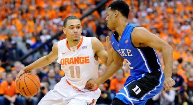 Syracuse beat Duke