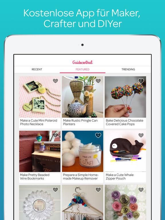 Guidecentral - DIY Tutorials, Selbstgemachte Crafts, Projekte und Anleitungen Screenshot