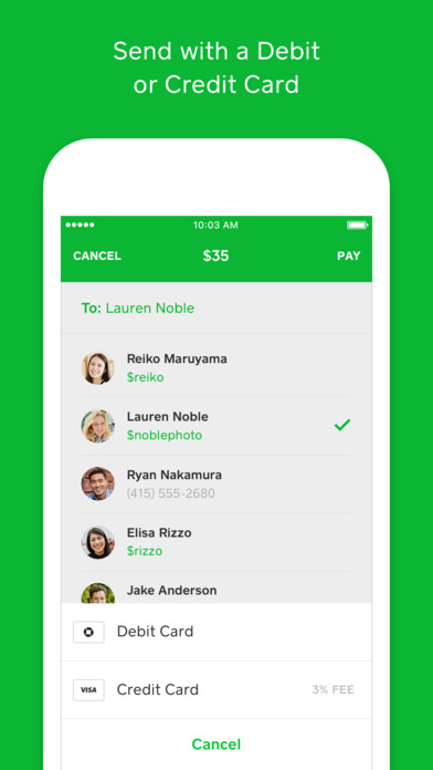 Square Cash - Send Money for Free on the App Store