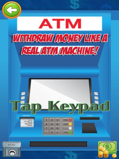App Shopper: ATM Simulator - Credit Card, Cash, & Money Games (Games)