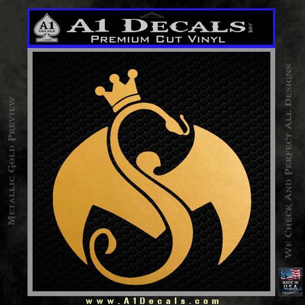 Tech N9ne Strange Music Logo Decal Sticker 187 A1 Decals