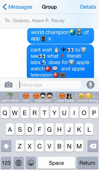 Keymoji : Emoji Keyboard iPhone