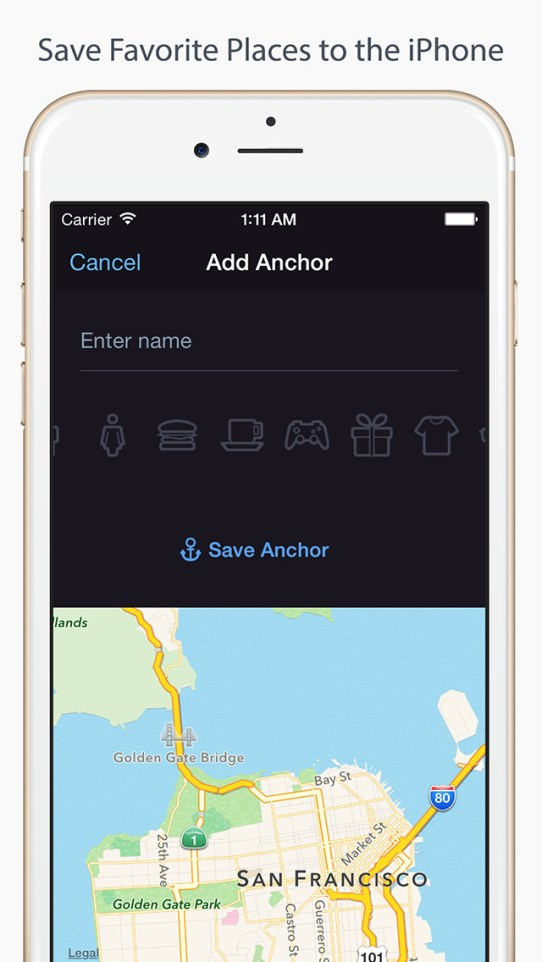 Anchor Pointer — GPS Compass (Find your parked car) iPhone