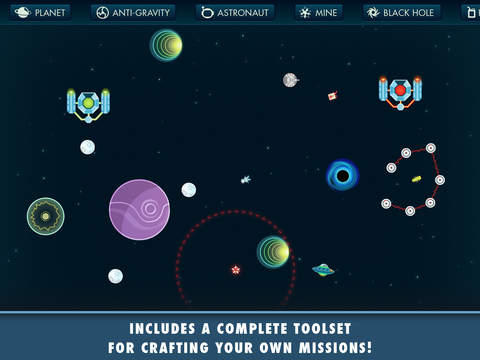 Gravitations - Player Made Missions iPad