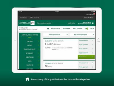 App Shopper: Lloyds Bank Express Logon for iPad (Finance)