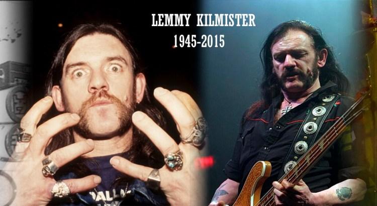 Lemmy Kilmister 1945-2015