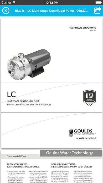 Goulds Water Technology Catalog - AppRecs
