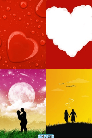 Love Wallpapers HD + | iPhone Entertainment apps | by Canalino Software