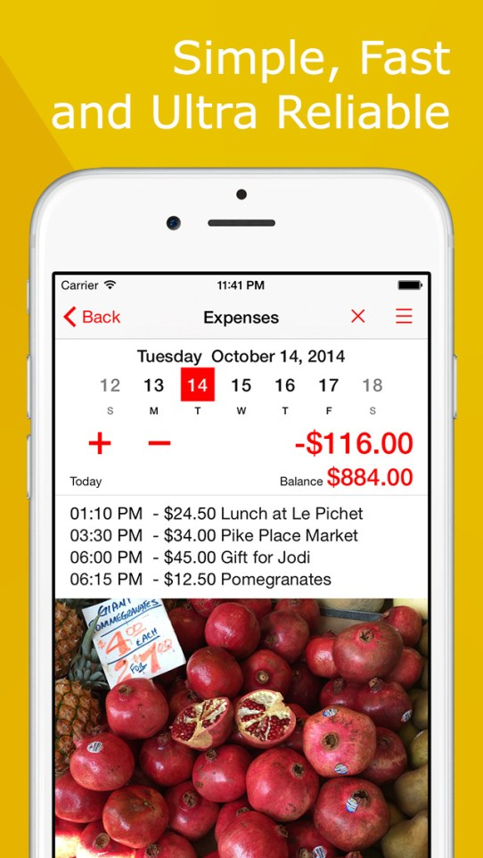 Expense Tracker+ Money Saver iPhone