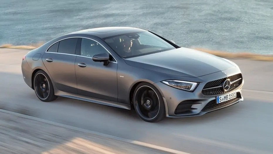 LA Auto Show  The 2019 Mercedes Benz CLS four door coupe brings back     Mercedes Benz